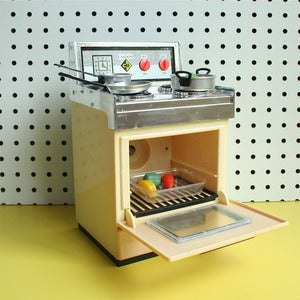 Image of Vintage Toy Cooker - SOLD