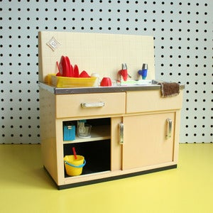 Image of Vintage Toy Kitchen Sink