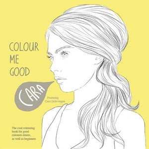Image of Cara Delevingne Colouring Book<BR>**pre-order**
