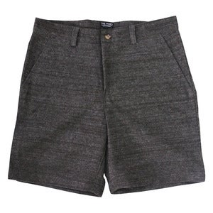 Image of The Mines - Japanese Wool Shorts - Dark Ash