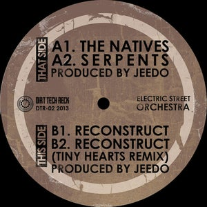 "Image of Electric Street Orchestra - The Natives EP - 12"" (Dirt Tech Records)"