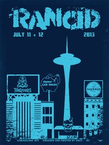 Image of Rancid - Showbox Seattle