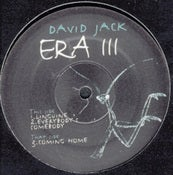 Image of DAVID JACK : Era III EP