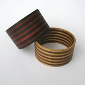 Image of WOOD STRIPE bracelet (11 wide)