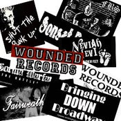 Image of Wounded Records Bag of Stickers