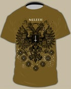 "Image of MELEEH ""crest"" T-SHIRT"