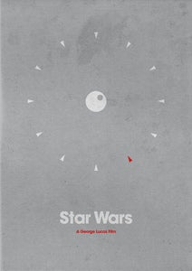 Image of Star Wars Set Of 3 Posters