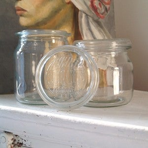 Image of Vintage Glass Storage Jars