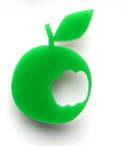 Image of Green Apple Brooch