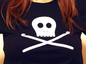 Image of Skully Crochet Hooks T-Shirt