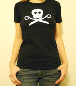 Image of Skully Scissors T-Shirt
