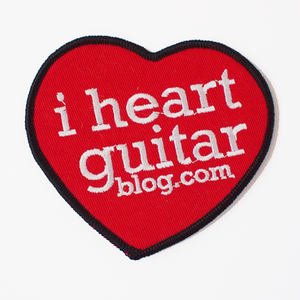 Image of I Heart Guitar patches