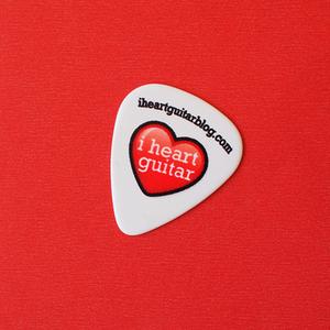 Image of I Heart Guitar picks