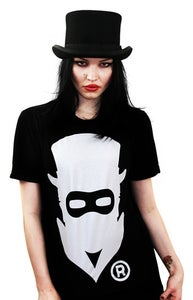Image of Masked Logo (Black) (Womens)