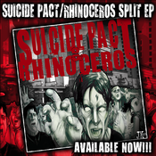 Image of SUICIDE PACT / RHINOCEROS SPLIT CD