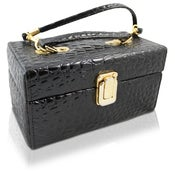 Image of Vintage Box Croc Purse
