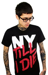 Image of NY Till I Die (Black) (Mens)