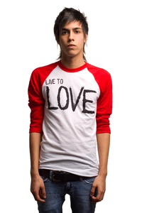 Image of LOVE 3/4 Baseball Tee