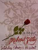 Image of 4th Annual Hideout Makeout Party Poster