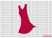 Image of Alpha Phi Red Dress Thank Yous