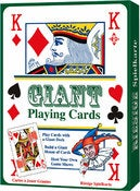 Image of GIANT PLAYING CARDS