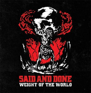 "Image of Said and Done ""Weight Of The World"" 7"""