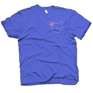 Image of RWB Blue Ohio Shirt