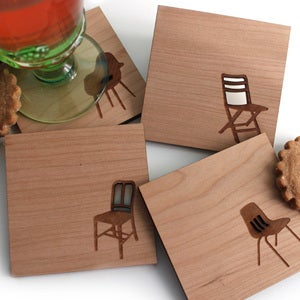 Take a Seat Coasters