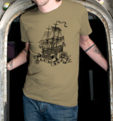 Image of Low Sea Men's T-Shirt (Sand)