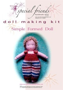 Image of Waldorf Doll Kit - Simple formed doll