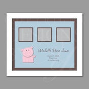 Image of Keepsake Frame :: Piggy