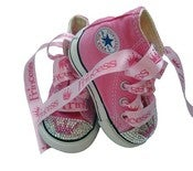 Image of SWAROVSKI BABY BLING CONVERSE PRINCESS SNEAKERS