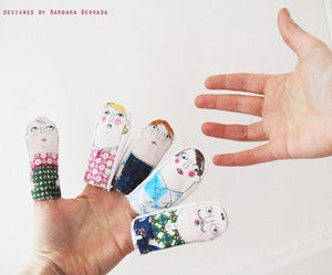 Image of finger dolls+2prints