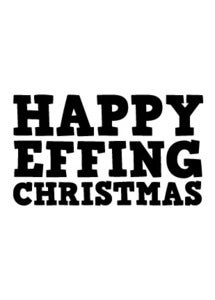 Image of Happy Effing Christmas
