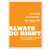 Image of POSTER: Do Right - 19.75&quot; x 27.5&quot;