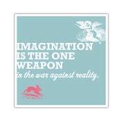 Image of POSTER: Imagination - 19.75&quot; X 19.75&quot;