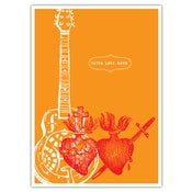Image of POSTER: Faith. Love. Rock. Poster - 19.75&quot; x 27.5&quot;