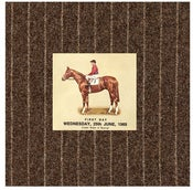 Image of Greeting Card:Vintage Horse Racing