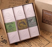 Image of Box of III Men's Handkerchiefs: Fishing