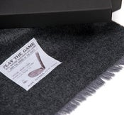 Image of Men's Wool Scarf: Golf