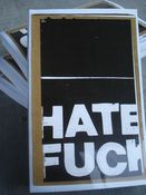 Image of HATE FUCK collection 1 book