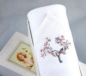 Image of Woman's Handkerchief: Tree