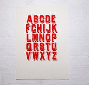 Image of Alphabet 1 - Mark Pavey
