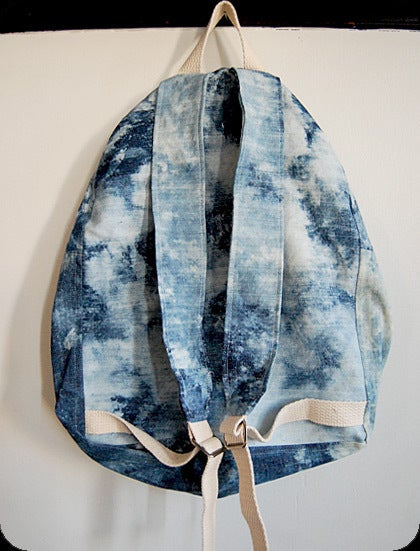 pretty please dear — dusen dusen- acid wash backpack