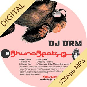 Image of DJ DRM - Bhunabeats 12&quot; (Vinyl Sold Out - Digital Only)
