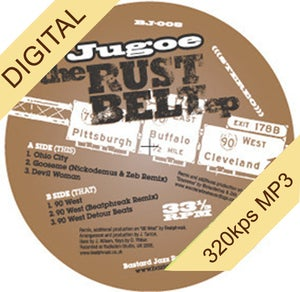 Image of Jugoe - The Rustbelt EP (Vinyl Sold Out - Digital Only)