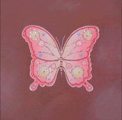 "Image of Royal Butterly on Brown 12"" x 12"""