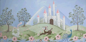 "Image of Castle Landscape 11"" x 22"""