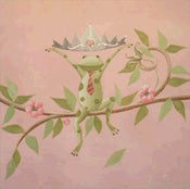 "Image of Mordechai the Frog Prince 12"" x 12"""