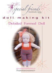 Image of Waldorf Doll Kit - Detailed Formed Doll